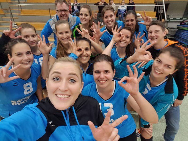 Sieg für die Damen 1 in Freiburg