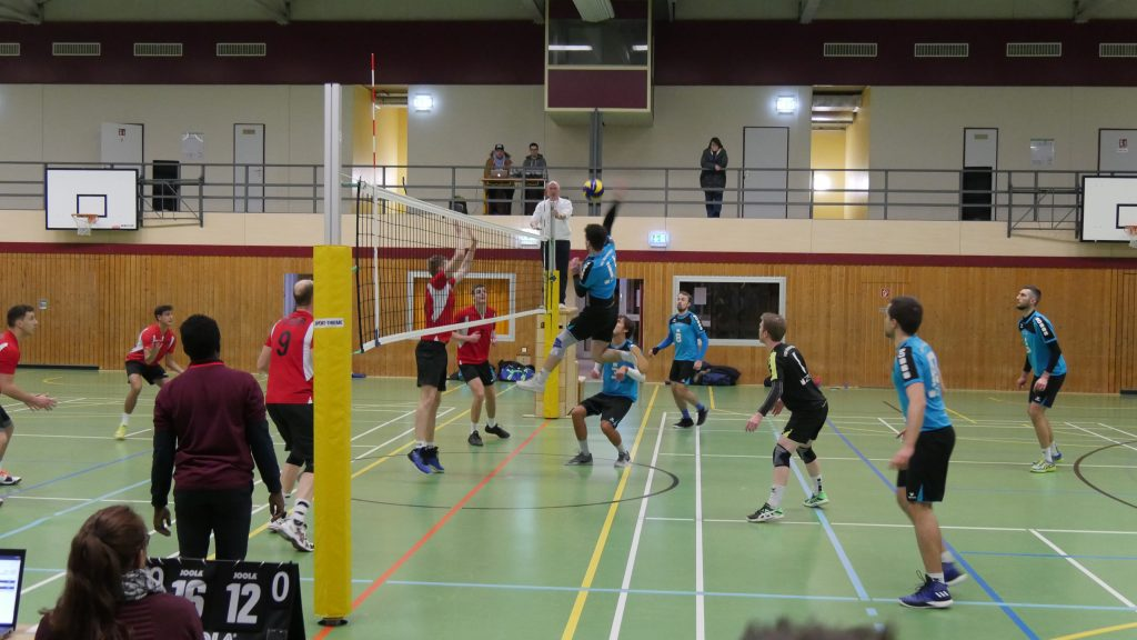 Ein Volleyball-Spiel voller Emotionen gegen Bühl