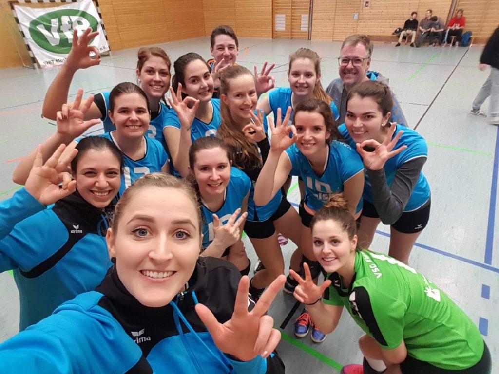 Drei wichtige Punkte für die Damen 1 in Mosbach