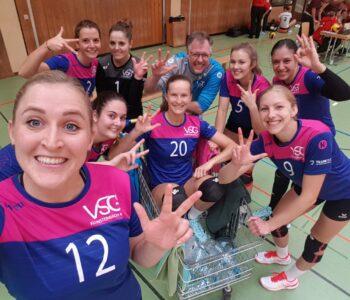 Die Damen 1 siegen 3:0 in Offenburg