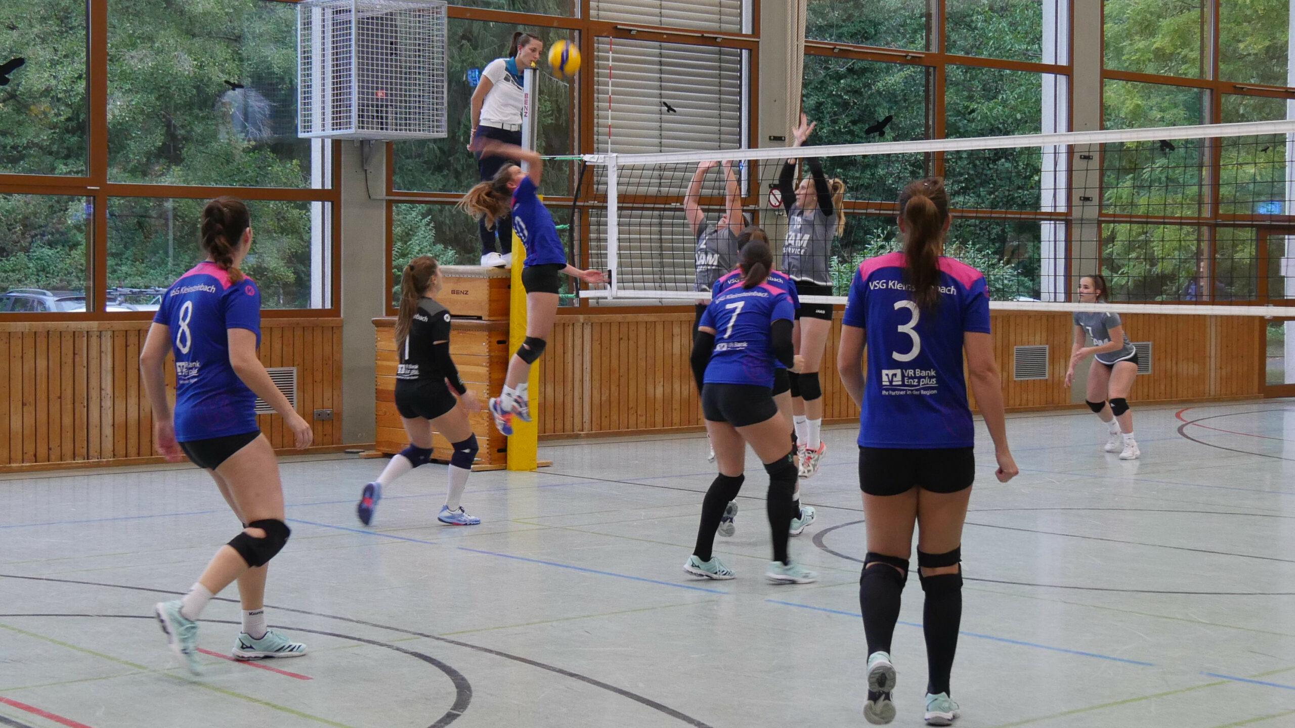 VSG Damen 1 gegen SV Sinsheim 2