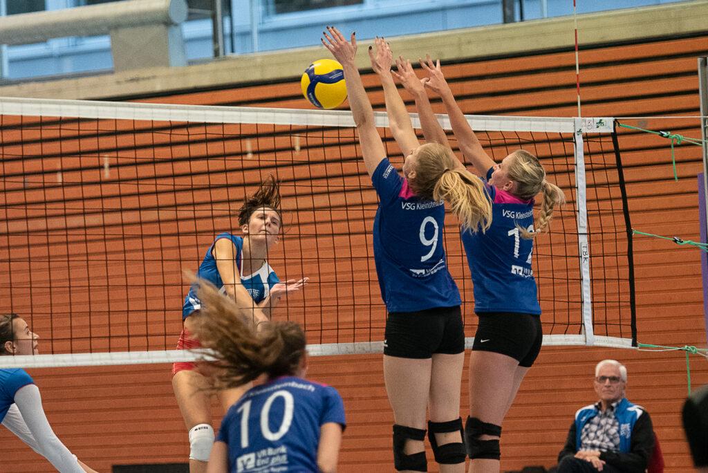 VSG Kleinsteinbach Damen 1 gegen TB Bad Krozingen. Foto: Norbert Kreienkamp